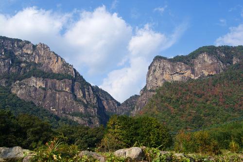 秋の行縢山