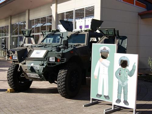 自衛隊の装甲機動車