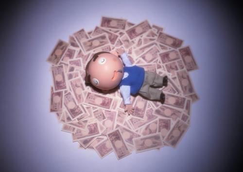 お金で寝る.jpg
