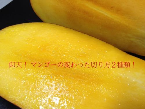 仰天!マンゴーの変わった切り方2種類!.jpg