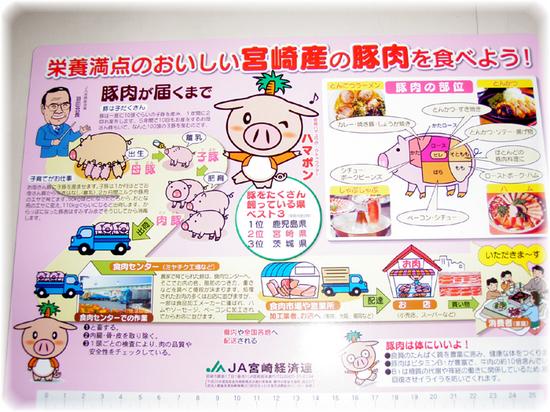 宮崎産の豚肉を食べよう